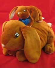 Kohl's Plush Bunny Mama Baby Guess How Much I Love You! 32P2 Stuffed Animal Toy