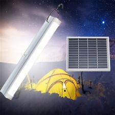 Dimmable Solar Panel 30 LED Light Bar Floodlight Outdoor Garden Pathway Lamp