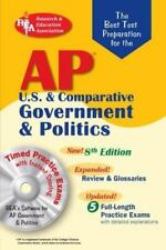 Ap Government & Politics w/Cd-Rom (Rea) - The Best Test Prep: 8th Edition (Test