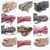 5/100M Natural Hessian Rope Burlap Ribbon 10mm Craft Vintage Wedding Party Decor