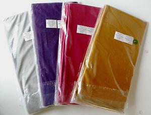 Kissenbezug 2 teilige (1set) Nicki Microfaser 50x50 cm Kissenhülle Reißverschlus