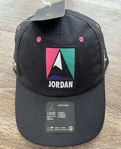 Jordan Jumpman Heritage 86 Cordura Winter Utility Cap Hat DA2086-010 Adjustable