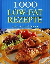 1000 Low-Fat Rezepte aus aller Welt   Buch   Zustand gut