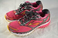 Womens BROOKS Ghost 7 Pink Gold Running Shoes Size 7.5 US 38.5 EUR B