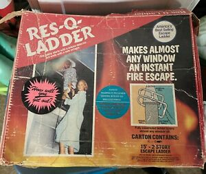 Ladder Window Fire Escape Vintage