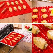 Pyramid Pan Non Stick Fat Reducing Silicone Oven Baking Tray Sheets Cooking Mat