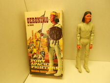 1967 Marx Geronimo Action Figure Near Complete With Accessories #1863