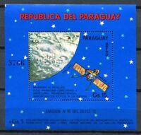 Paraguay 1974 Space Raumfahrt Merkur Weltraum Satellit Block 231 Postfrisch MNH