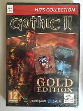 GOTHIC 2 Gold Edition JEU PC NEUF SOUS BLISTER Jeu de Role RPG Avec ADD-ON