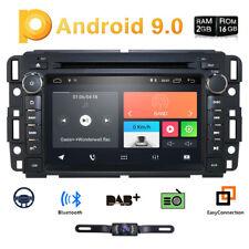 Cam+Gps Nav Touch Screen Android Car Dvd Player Stereo For Chevrolet Silverado E