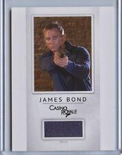 2016 James Bond Classics Relic card PR12 Daniel Craig Shirt /200