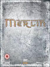 MERLIN Series 4 + BONUS FEATURES Complete BBC Seasons DVD Brand New Sealed