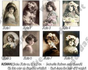 ✿ NEU Mädchen Bügelbild od. Foto SHABBY Vintage AUSWAHL