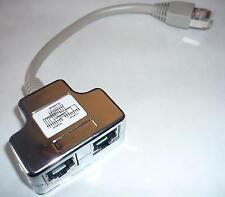 Netzwerk Verteiler Doppler RJ45 Y Verteiler Adapter Cat.5e Kabel Splitter