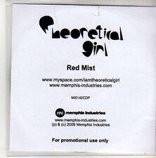 (AK770) Theoretical Girl, Red Mist - DJ CD