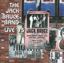 Live '75 by Jack Bruce Band/Jack Bruce 2CD (Oct-2011, Esoteric Recordings)