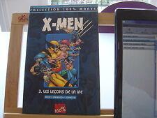 X MEN XMEN T3 LES LECONS DE LA VIE 100% MARVEL 100 % MARVEL TBE/TTBE