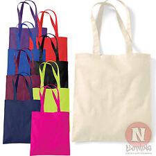 Tote shopping bag plain 100% cotton enviromental Westford Mill