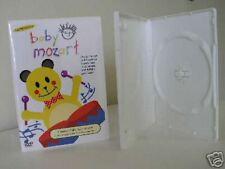 100 14MM STANDARD SINGLE WHITE DVD CASE MOVIE BOX PSD20