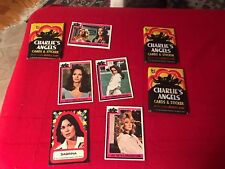 Vintage, 1977 Charlie's Angels / Topps Trading Cards