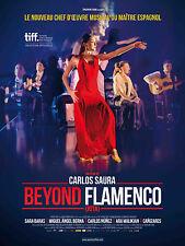 Affiche 120x160cm BEYOND FLAMENCO (LA JOTA) 2017 Carlos Saura documentaire NEUVE