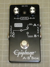 Epiphone AB Box Selector Switch Pedal - 2 Inputs - 1 Output
