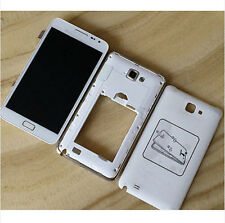 White Housing LCD Screen Touch Digitizer Assembly for Samsung Galaxy Note N7000