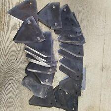 27 John Deere Sickle Bar Mower Blade Teeth Hardware tooth marked JD