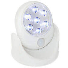 Ghost Hunting detector sensor 7 LED motion PIR activated light equipment swivel