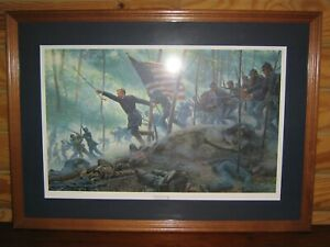 Chamberlain's Charge by Mort Kuntsler, Signed and Numbered limited ed. 734