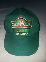 The Cricket Club Cafe - Sri Lanka Cap - Preowned Cond.