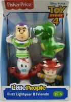 Fisher-Price Little People Toy Story Buzz Lightyear and friends Figure pack