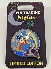 Disney Pin Trading Nights February 2020 Sorcerer Mickey Limited Edition 1000 Pin