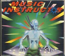 MUSIC INSTRUCTOR - hymn  4 trk MAXI CD  1995