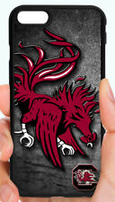 SOUTH CAROLINA GAMECOCKS PHONE CASE COVER FOR iPHONE XS XR X 8 7 6 PLUS 5C 5S 4S