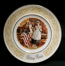 """""""Betsy Ross"""" Avon 1973 Collector 9"""" Plate - Stunning"""