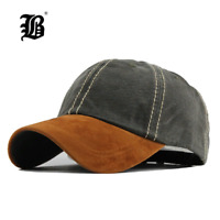 Washed baseball Cap Casquette FLB Cap Durable Cup Embroidery Men Women Garros