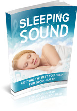 PDF eBook - Sleeping Sound - Auction MRR Free Shipping Sleep Healthy Basic NEW