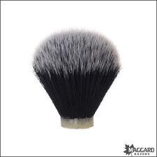 Maggard Razors 22mm Black & White Synthetic Shaving Brush Knot Only