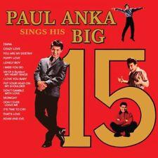 Paul Anka Sings His Big 15 CD NEW