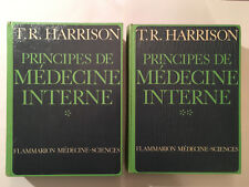 PRINCIPES DE MEDECINE INTERNE 2 VOL 1975 HARRISON ILLUSTRE