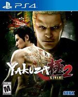 Yakuza Kiwami 2 PS4 (Sony PlayStation 4, 2018) Brand New