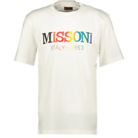 Missoni Colourful Logo T-Shirt White