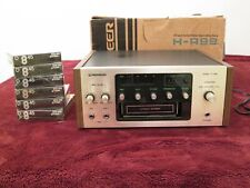 Pioneer H-R99 8-Track Recorder/Player w/Box & Nos Tdk Tapes - Vintage 1974