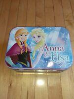 Disney ELSA & ANNA LUNCHBOX/ TIN TOTE Frozen