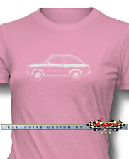 Fiat 850 Special Coupe T-Shirt for Women - Multiple Colors & Sizes - Italian Car
