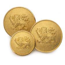 set of 14 Lion Passant Guardant Blazer Jakcet Buttons