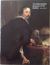 ANTHONY VAN DYCK OLD MASTER HISTORY The Metropolitan Museum of Art Bulletin