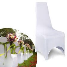 Art de la table de fête housses de chaise blanche pour la maison toutes occasions