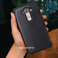 New PC+TPU Dual Cover Armor Hybrid Impact Rugged Case For LG G4+HD Films